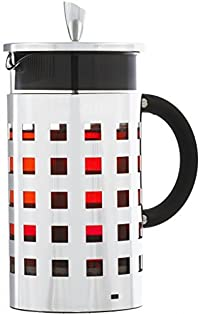 GROSCHE Casablanca Premium French Press 1000 ml / 8 Cup / 34 oz Capacity with All Stainless Steel Press Mechanism