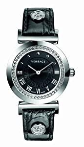 Versace P5Q99D009-S009 Vanity Black Watch