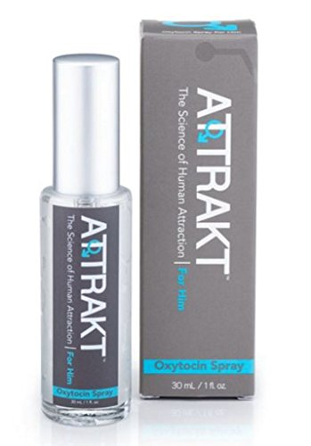 Pheromones infused with Natural 'Love Hormone' Oxytocin - 30ml (1oz) - Attract Women with The Ultimate Attraction Formula for Men by Attrakt (Aromatherapy Oil Kit With Chart compare prices)