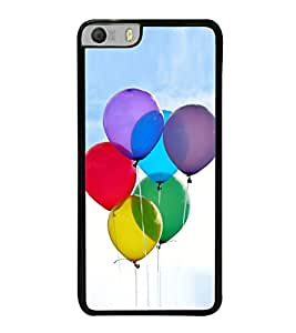 Colourful Balloons 2D Hard Polycarbonate Designer Back Case Cover for Micromax Canvas Knight 2 E471