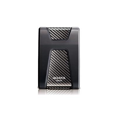 ADATA USA DashDriv Durable HD650 1TB Anti-Shock Portable External Hard Drive Black AHD650-1TU3-CBK