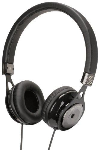 Scosche Rh600Bk Realm On - Ear Headphones - Retail Packaging - Black