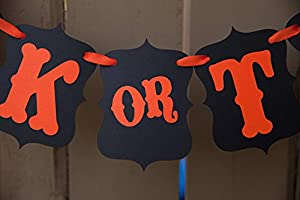 "[USA-SALES] Halloween ""Trick or Treat"" Banner, Halloween Party Decorations, by USA-SALES Seller by USA-SALES"