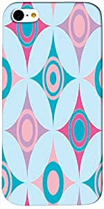Timpax protective Armor Hard Bumper Back Case Cover. Multicolor printed on 3 Dimensional case with latest & finest graphic design art. Compatible with only Apple iPhone - 5C. Design No :TDZ-21409
