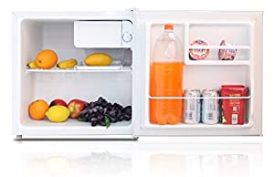 Capital CF50B - 50 Litre Compact Counter Table Top Mini Fridge - Black - Free Next Working Day Delivery