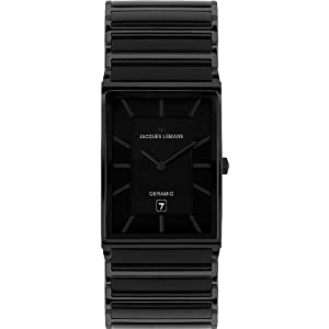 Jacques Lemans Men's 1-1593B York Classic Analog with HighTech Ceramic and Sapphire Glass Coating Watch