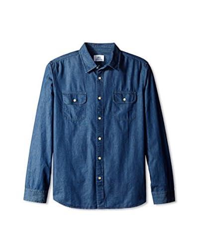 Surfside Supply Co. Men's Long Sleeve Denim Work Shirt