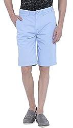 Make Happy Blue Golf Shorts - L