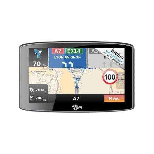 Navigation GPS MAPPYULTIS536NOIREUROPE CARTE A VIE