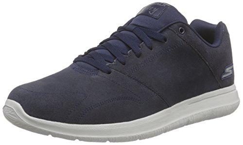 skechers-mens-go-walk-city-retain-low-top-sneakers-blue-size-8-uk
