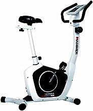 Hammer Cardio T2 Vélo d'appartement mixte adulte Blanc/Noir 90 x 47 x 135 cm