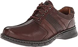 Clarks Unstructured Men\'s Un.Coil Casual Oxford,Brown,8.5 M US