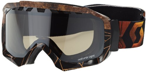 Scott Uni Skibrille Hustle, slab rust nl-32 bc, One size, 2204222830185