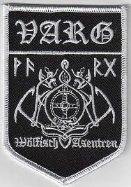 Varg-Logo toppa/Patch