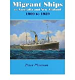 img - for [(Migrant Ships to Australia and New Zealand: 1900 to 1939)] [Author: Julian Fitzgerald] published on (August, 2009) book / textbook / text book