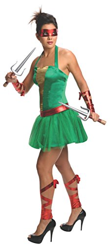 Secret Wishes Women's Teenage Mutant Ninja Turtles Raphael Costume