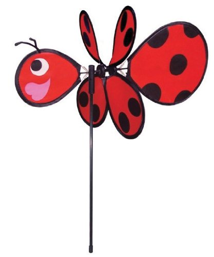 In the Breeze Baby Ladybug Garden Spinner