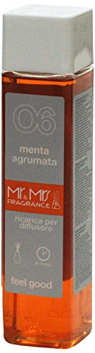 Mr&Mrs easy fragrance 006 Cuba Menta agtumata 詰め替えボトル300ml