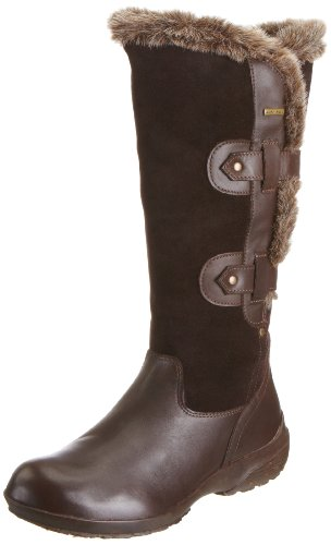 Geox Women's D Badia Abx M Coffee Rain And Snow Boots D1349M4322C6009 7 UK, 40 EU