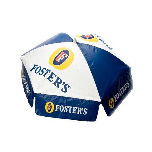 6 ft Fosters Beer Logo Patio / Beach Umbrella with Tilt