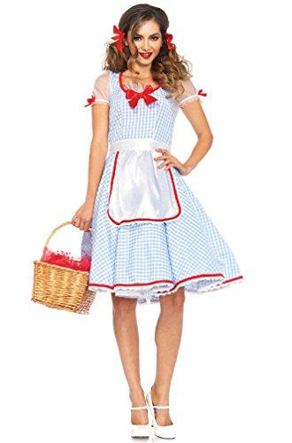 8eighteen Kansas Sweetie Farmer Girl Adult Costume (Adult Plus Size Kansas Girl Costume)