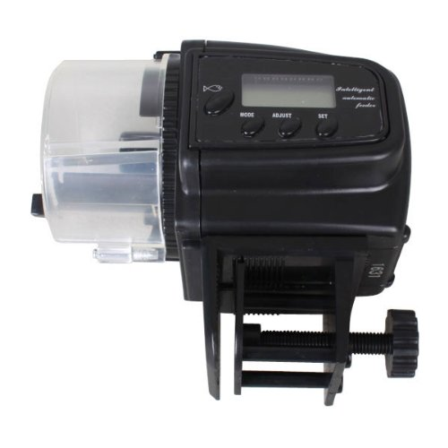 Digital Mini Automatic LCD Aquarium Fish Tank Food Feeder Timer Home up to 4 Feeding Times