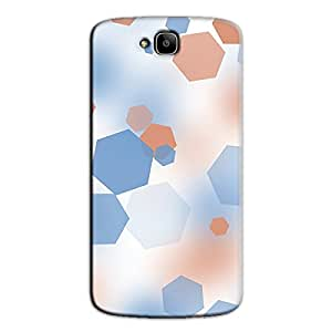 COLORFUL HEXA BACK COVER FOR HONOR HOLLY