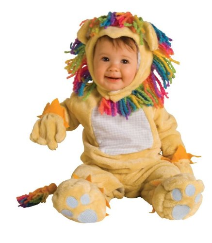Fearless Lil Lion Infant Costume (12-18 Mos)