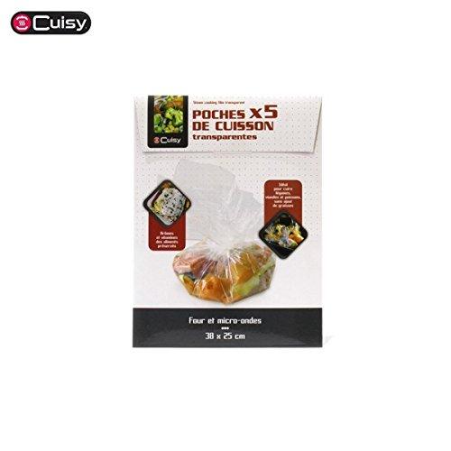 POCHES DE CUISSON / 5 POCHES 38X25 / 5 POCHES 45 X55