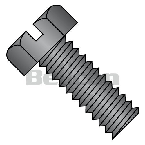 """Qty 25 Stainless Steel Hex Cap Serrated Flange Bolt FT UNC #8-32 x 1//2/"""""""