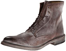 FRYE Men\'s James Lace Up Boot,Brown,11 M US