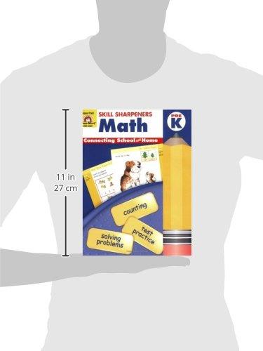 Skill Sharpeners Math, Pre-K