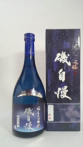 磯自慢 常田 純米大吟醸 ブルーボトル 720ml ■要冷蔵