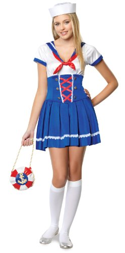 First Mate Sailor Costume - Teen Medium/Large