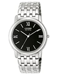 Citizen Men's AR0010-53E Eco-Drive Stiletto Stainless Steel Watch
