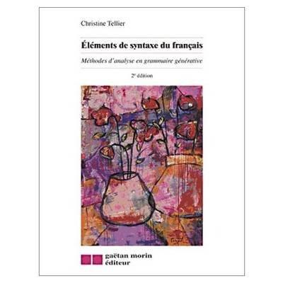 Eléments de syntaxe du français