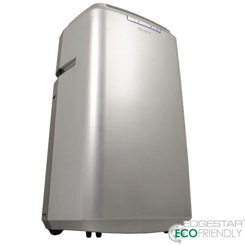 EdgeStar Server Room 14,000 BTU Dual Hose Portable Air Conditioner With Pump - Silver (Portable Air Conditioner Idylis compare prices)