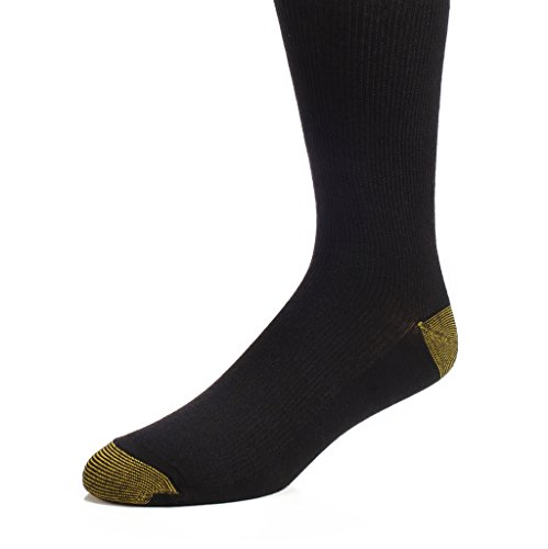 [The Right Fit Novelty Men's Long Cotton Ribbed Over-the-Calf Tube Cushion Socks: AKA Novelty Athletic Knee High Socks for Athletes and Sports Players, Black, 1 Pack,] (Football Player Halloween Costume Women)