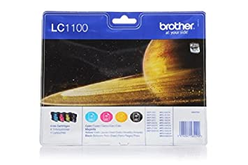 Brother MFC-790 CW - Original Brother LC-1100VAL - Cartouche d'encre Multipack (BK,C,M,Y) 4 pieces -