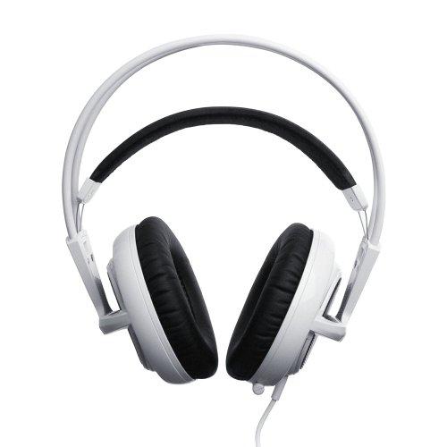 SteelSeries Siberia v2 Full-size Headset (white) 51100の写真02。おしゃれなヘッドホンをおすすめ-HEADMAN(ヘッドマン)-