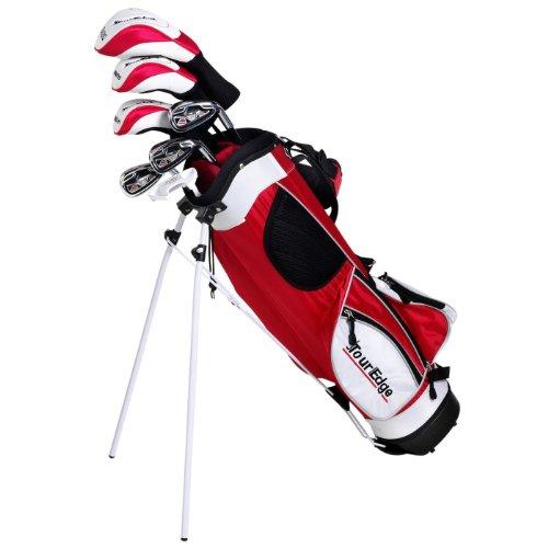 Edge Tour Edge HT Max-J Junior Golf Sets (Ages 9-12) (Red)