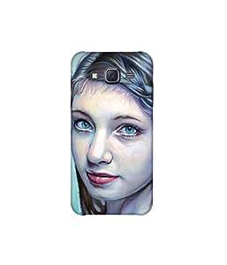 Kolor Edge Printed Back Cover For Samsung Galaxy On5 - Multicolor (8021-Ke11050SamOn5Sub)