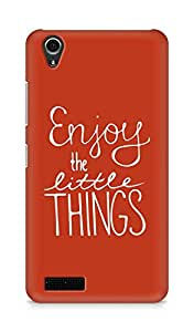 AMEZ enjoy the little things Back Cover For Lenovo A3900