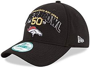 NFL Denver Broncos Super Bowl 50 Participation 9FORTY Adjustable Cap, Black, One Size