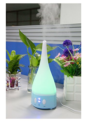 Lemonbest® Aromatherapy Essential Oil Diffuser Air Humidifier Purifier 7 Led Lighting Aroma Diffuser Mist Maker For Home Office (Blue)