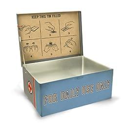 Blue Q Medical Marijuana Cigar Box