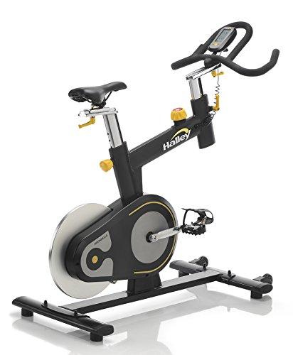 Halley Fitness Hirondelle Bicicletta Spinning Nero