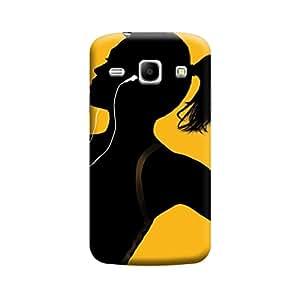 Desicase Samsung Core 8262 iPod Music 3D Matte Finishing Printed Designer Hard Back Case Cover (Multicolor)