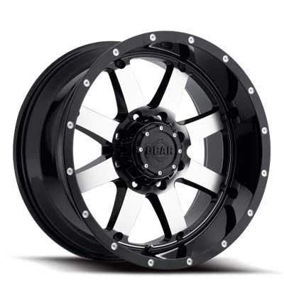 Gear Alloy 726M Big Block Wheel with Machined Finish (18x9