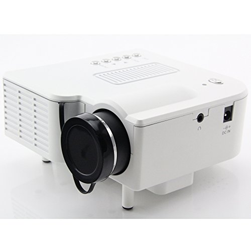 Hamswan Hdmi Mini Micro Av Led Digital Video Game Portable Projectors Multimedia Player Inputs Av Vga Usb Sd